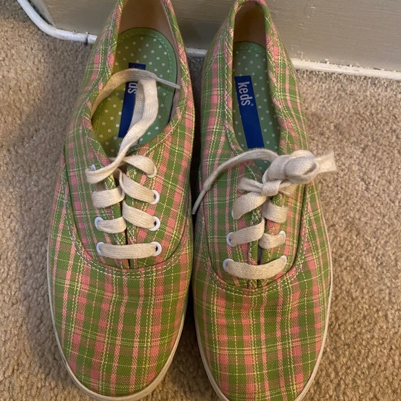 Pink and Green Keds! Size 7....
